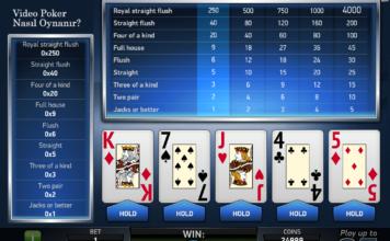 texas poker nasıl oynanır
