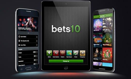 Bets10 Mobil Bahis Sayfası Tanıtımı
