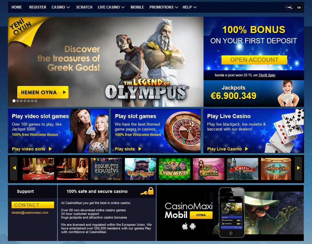 Casino Maxi Giriş Adresi Hangisi