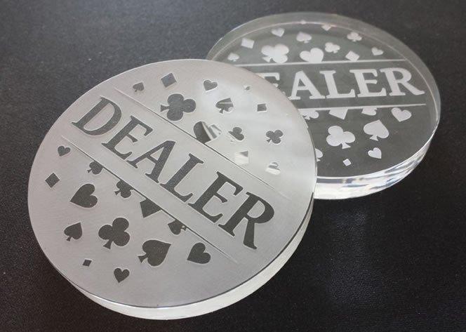 Poker Dealer Çipi