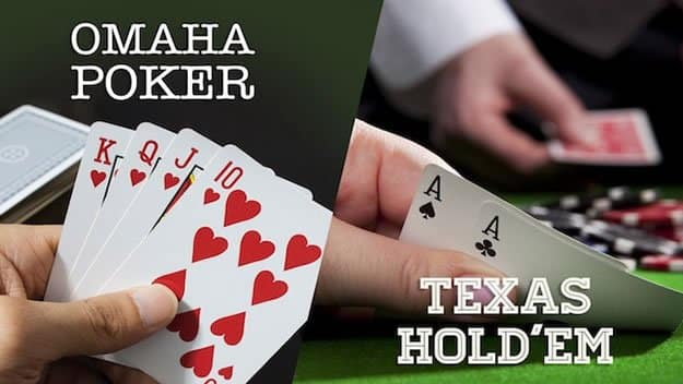 Teksas Holdem ve Omaha Poker Ortak Yönleri